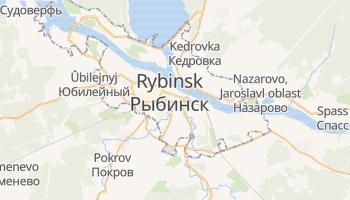 Carte en ligne de Rybinsk