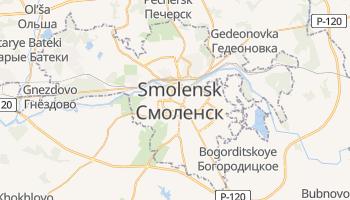 Carte en ligne de Smolensk