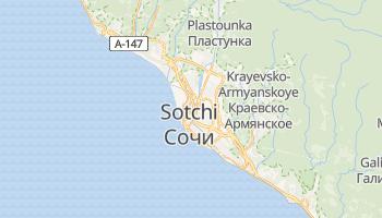 Carte en ligne de Sotchi