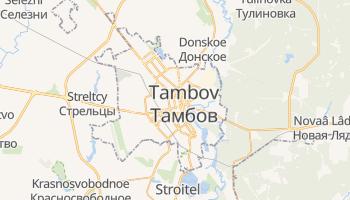Carte en ligne de Tambov
