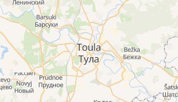 Carte en ligne de Toula