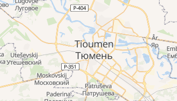 Carte en ligne de Tioumen