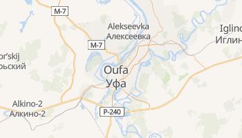 Carte en ligne de Oufa