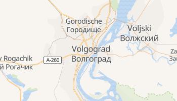 Carte en ligne de Volgograd