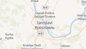 Carte en ligne de Iaroslavl