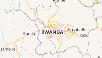 Carte en ligne de Kigali