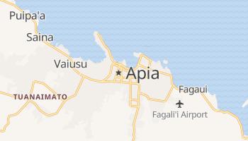 Carte en ligne de Apia