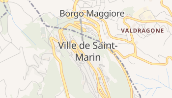 Carte en ligne de Saint-Marin