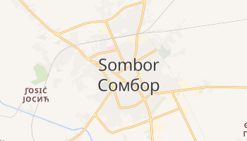 Carte en ligne de Sombor
