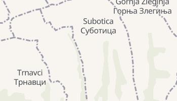 Carte en ligne de Subotica