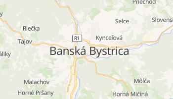 Carte en ligne de Banská Bystrica