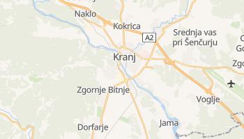 Carte en ligne de Kranj