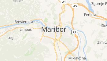 Carte en ligne de Maribor
