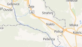 Carte en ligne de Naklo