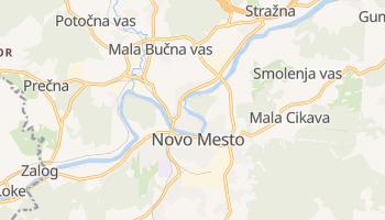 Carte en ligne de Novo Mesto