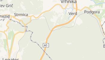 Carte en ligne de Vrhnika