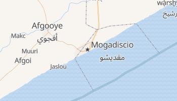 Carte en ligne de Mogadiscio