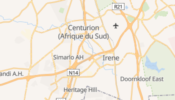 Carte en ligne de Centurion