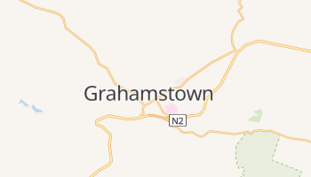 Carte en ligne de Grahamstown