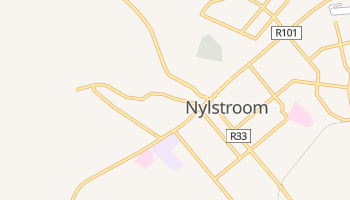 Carte en ligne de Nylstroom