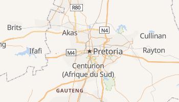 Carte en ligne de Pretoria