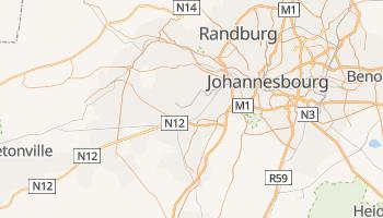 Carte en ligne de Soweto