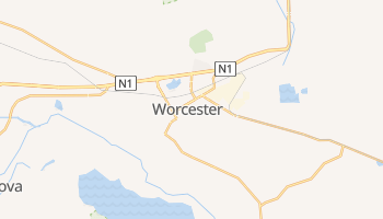 Carte en ligne de Worcester
