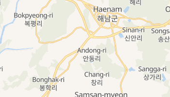 Carte en ligne de Andong