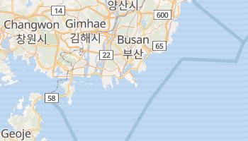Carte en ligne de Busan