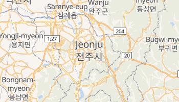 Carte en ligne de Jeonju