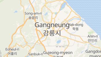Carte en ligne de Gangneung