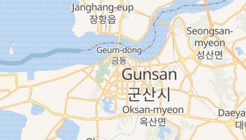 Carte en ligne de Gunsan