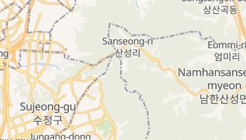 Carte en ligne de Gwangju