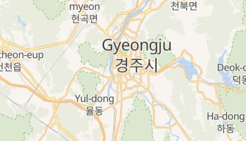 Carte en ligne de Gyeongju