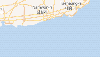 Carte en ligne de Pohang