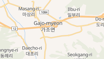 Carte en ligne de Pusan