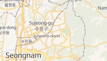 Carte en ligne de Seongnam