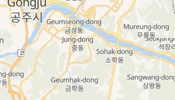 Carte en ligne de Suwon