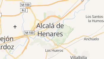 Carte en ligne de Alcalá de Henares