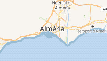 Carte en ligne de Almería