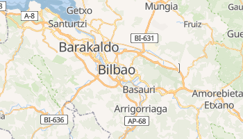 Carte en ligne de Bilbao
