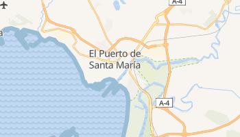 Carte en ligne de El Puerto de Santa María