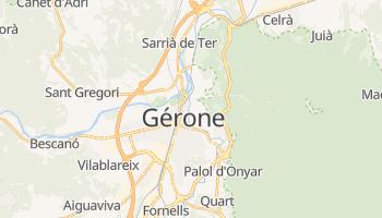 Carte en ligne de Gérone