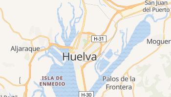 Carte en ligne de Huelva