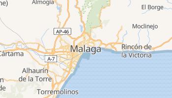 Carte en ligne de Málaga
