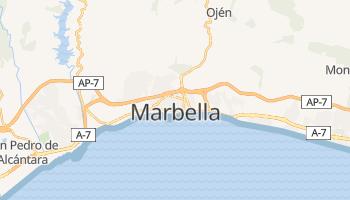 Carte en ligne de Marbella