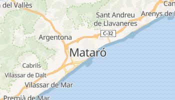 Carte en ligne de Mataró