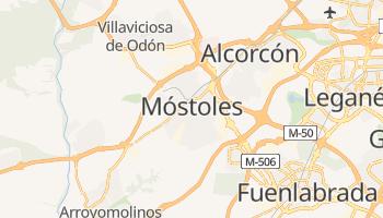 Carte en ligne de Móstoles
