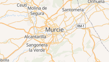 Carte en ligne de Murcie