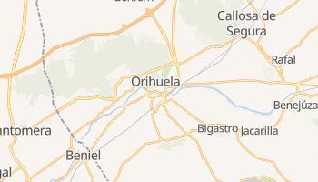 Carte en ligne de Orihuela